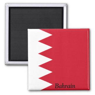 Flag of Bahrain Square Magnet