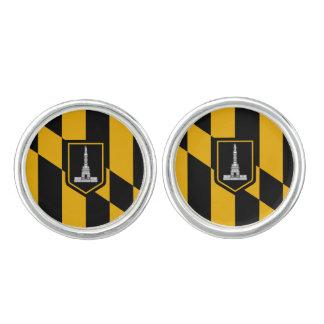 Flag of Baltimore, Maryland Cufflinks