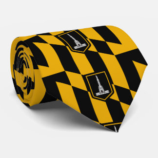 Flag of Baltimore Tie
