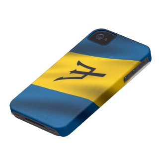 Flag of Barbados iPhone 4/4S Case-Mate iPhone 4 Case-Mate Case