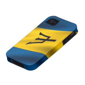 Flag of Barbados iPhone 4 Case-Mate Tough™ Vibe iPhone 4 Cover