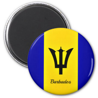 Flag of Barbados Magnet