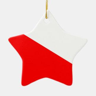 Flag of Barotseland Christmas Ornament