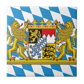 Flag OF Bavaria Tile