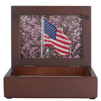 Flag Of Beauty Keepsake Box