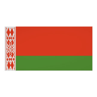 Flag of Belarus Poster