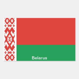 Flag of  Belarus Rectangular Sticker