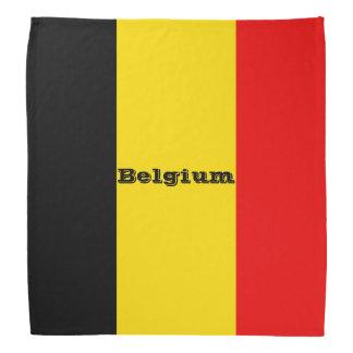 Flag of Belgium Bandana