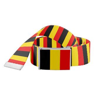 Flag of Belgium Belt