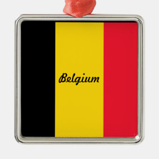 Flag of Belgium Christmas Ornaments