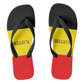 Flag of Belgium Flip Flops