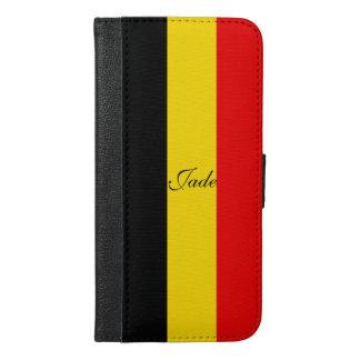 Flag of Belgium iPhone 6/6s Plus Wallet Case