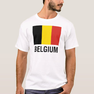 FLAG  of BELGIUM T-Shirt