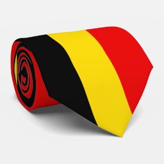 Flag of Belgium Tie