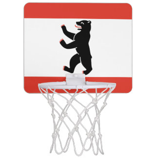 Flag of Berlin Mini Basketball Hoop