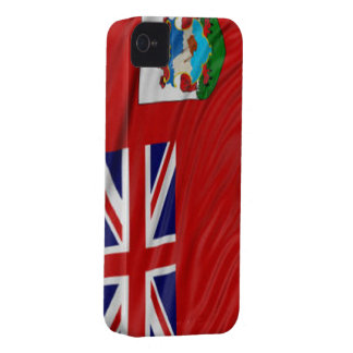 Flag of Bermuda iPhone 4/4S Case-Mate Barely There iPhone 4 Cases