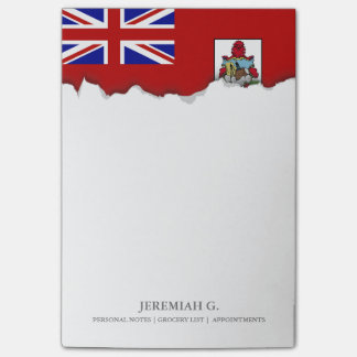Flag of Bermuda Post-it Notes