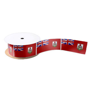 Flag of Bermuda Satin Ribbon