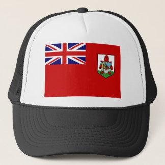 Flag Of Bermuda Truckers Mesh Hat