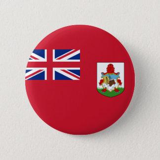Flag of Bermuda (UK) on Pin / Button Badge