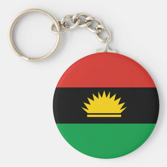 Flag of Biafra (Bịafra) Key Ring