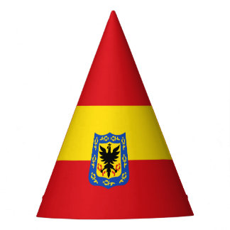 Flag of Bogota, Colombia Party Hat