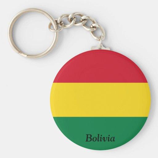Flag of Bolivia Keychains