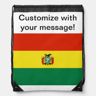 Flag of Bolivia Rucksack