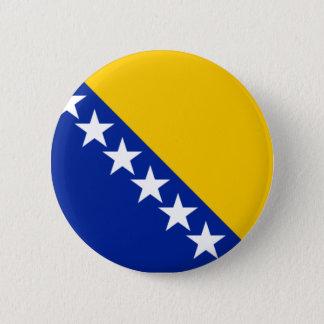 Flag of Bosnia and Herzegovina 6 Cm Round Badge