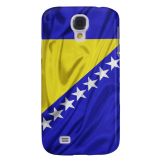 Flag of Bosnia and Herzegovina iPhone 3G/3GS Cases Samsung Galaxy S4 Covers