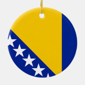 Flag of Bosnia and Herzegovina Ornament