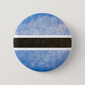 Flag of Botswana 6 Cm Round Badge