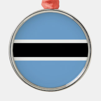 Flag of Botswana Christmas Ornament