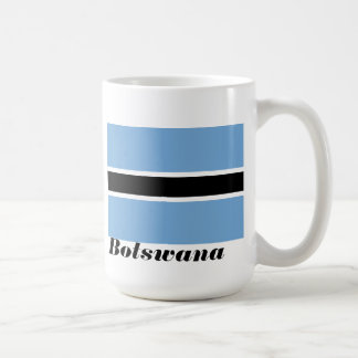 Flag of Botswana Coffee Cup