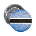 Flag of Botswana Pinback Button