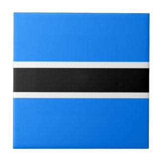 Flag of Botswana Tile