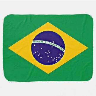 Flag of Brazil Baby Blanket