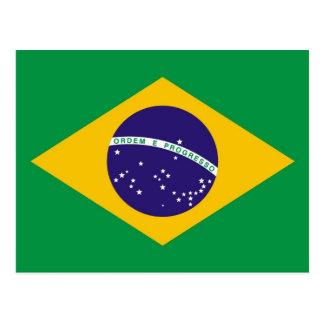 Flag of Brazil Bandeira do Brasil Postcard