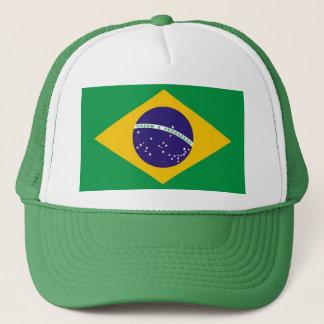 Flag of Brazil Bandeira do Brasil Trucker Hat