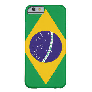 Flag of Brazil Barely There iPhone 6 Case