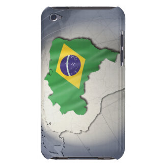 Flag of Brazil Barely There iPod Cases