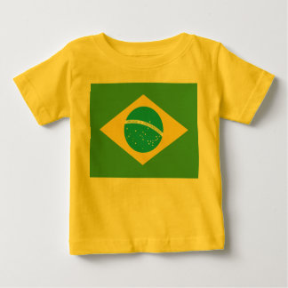 Flag of Brazil Infant's Shirt
