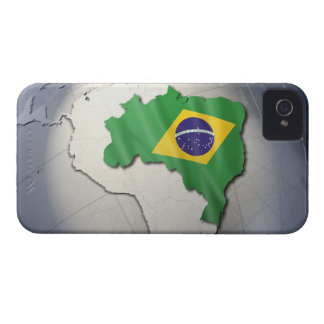 Flag of Brazil iPhone 4 Case-Mate Cases