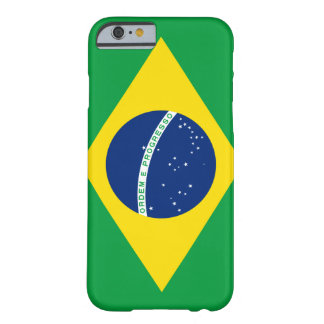 Flag of Brazil iPhone 6 case Barely There iPhone 6 Case