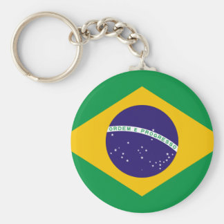 FLAG OF BRAZIL KEY RING