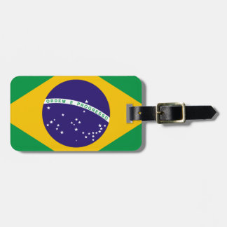 Flag of Brazil Luggage Tag