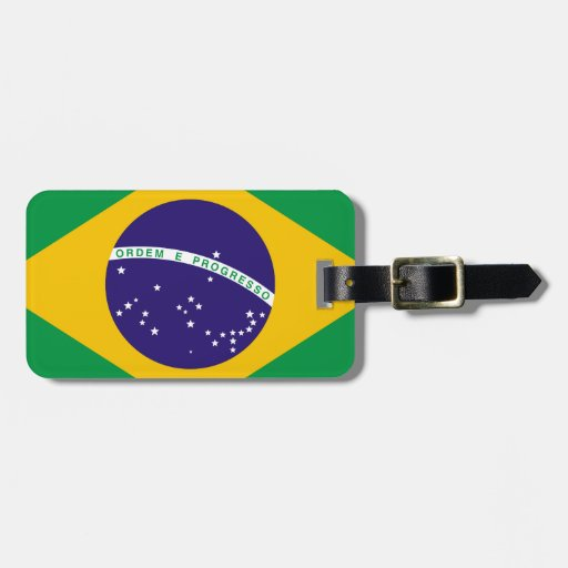 Flag of Brazil Tags For Luggage