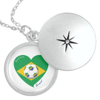Flag of BRAZIL National SOCCER Team 2014 Jewelry
