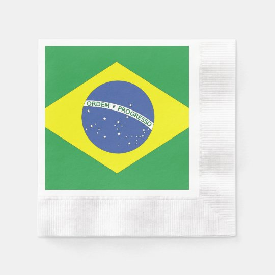 Flag of Brazil Paper Napkins