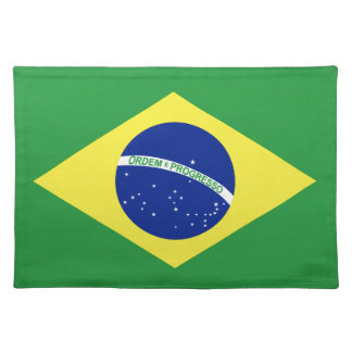 Flag of Brazil Placemat